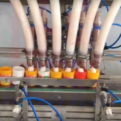 Máy chiết rót kem - Cream Filling Machine