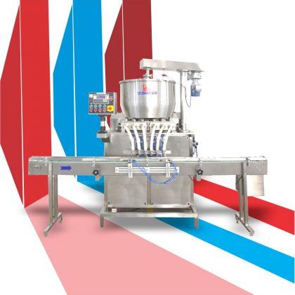máy chiết rót dạng kem