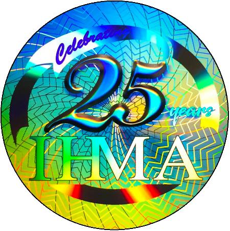 Ảnh thiết kế 25 năm phát triển hiệp hội IHMA